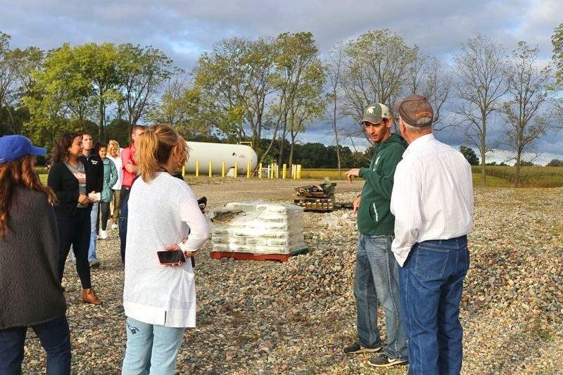 Michigan family farm tour