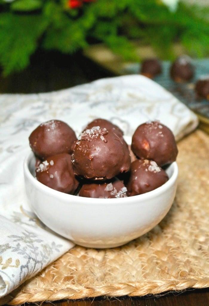 Chocolate Peanut Butter Fat Bombs Easy Keto Snack Idea