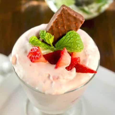 Strawberry Mousse Recipe   Sugar-Free Easy Dessert