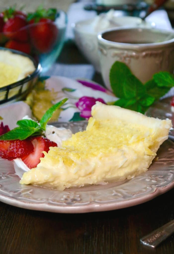 Coconut Custard Pie Recipe