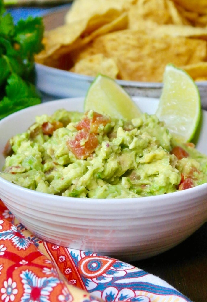 Easy Guacamole Recipe Three Ingredients The Foodie Affair
