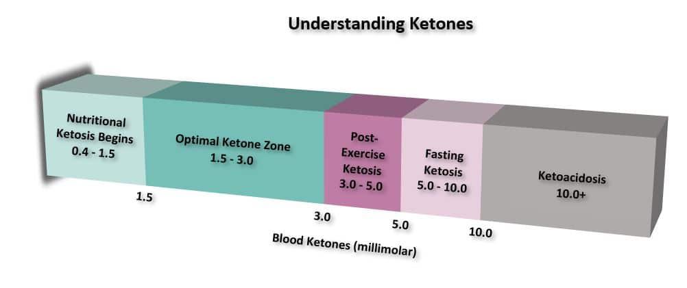 Understanding Ketones Chart Image