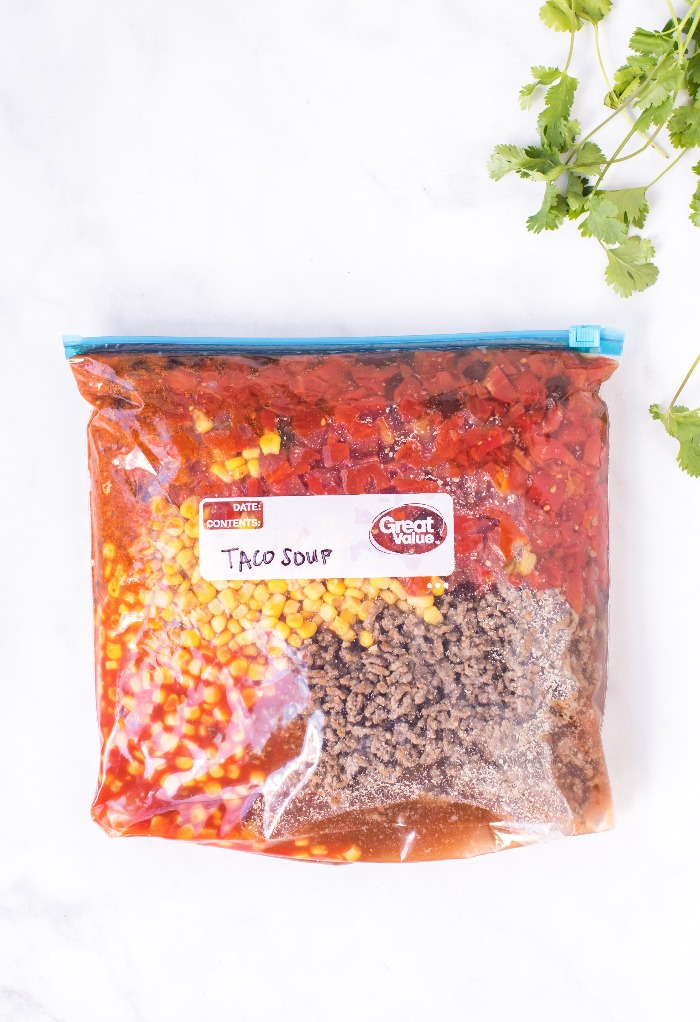 seal freezer meal and label with date and cooking instructions