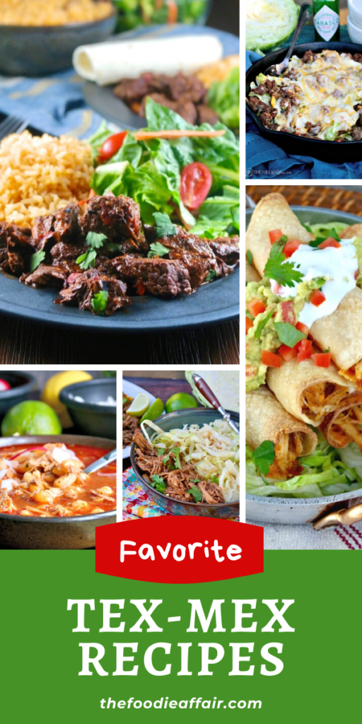 A collection of five family favorite Mexican Recipes
