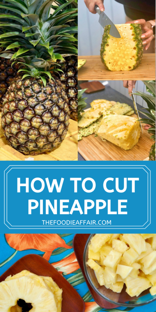 Don't let that fresh pineapple go to waste! Learn hot to core, slice and dice into chunks and use in all your favorite recipes.