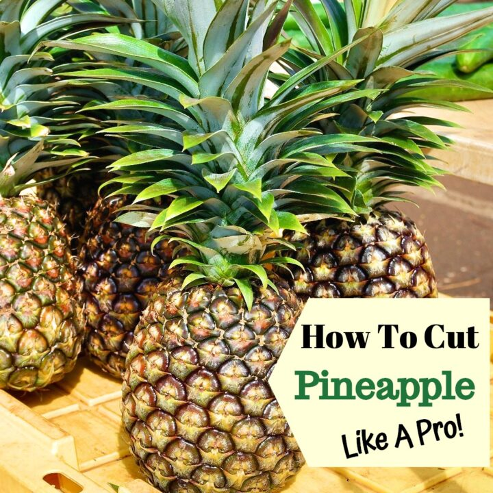 Image of fresh pineapples
