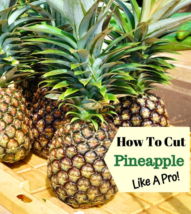 Image of fresh pineapples