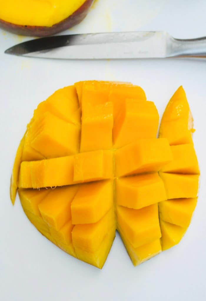 Easy way to cut a a mango