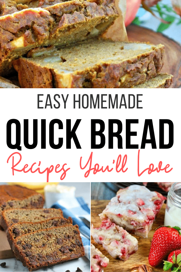 Collection of quick bread recipes
