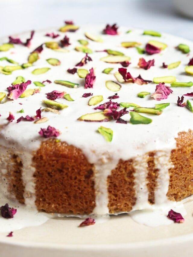 PERSIAN LOVE CAKE RECIPE STORY